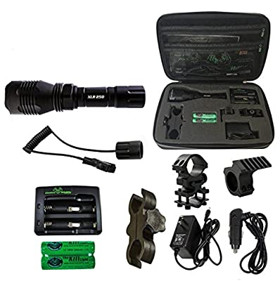 Elusive Wildlife The Kill Light XLR250 Gun Mounted Hunting Light Package