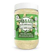PB&Me No Sugar Added Powdered Peanut Butter, 200 Grams