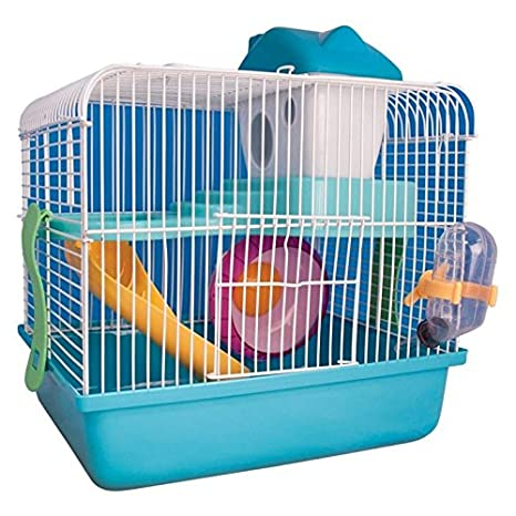 Ardisle), diseño de hámster ratón jaula Casa Nivel 2 Suelo Botella ...
