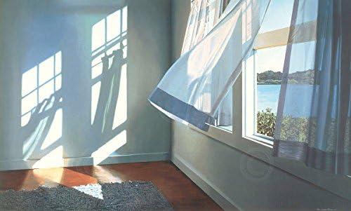 Good Day by Alice Dalton Brown Beach Window Interior Print Poster 24x36