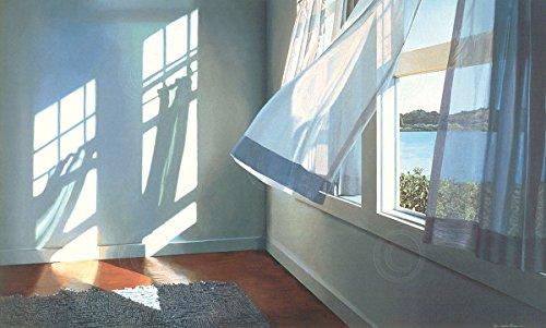 Summer Breeze by Alice Dalton Brown Interior Window Beach Poster (Choose Size of Print) by Picture Peddler (Brown Alice Art Dalton)