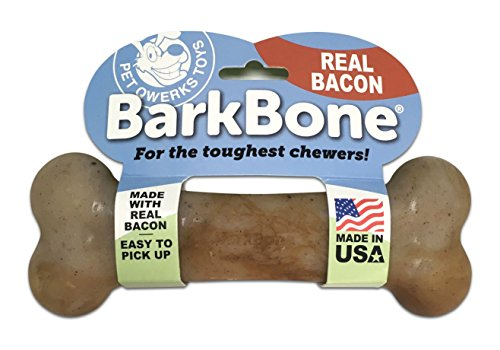 bacon barkbone dog chew toys