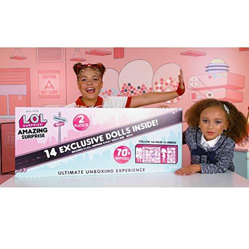 Amazing Surprise 14 Exclusive Dolls 70 Surprises Playset OMG Maze LOL Surprise