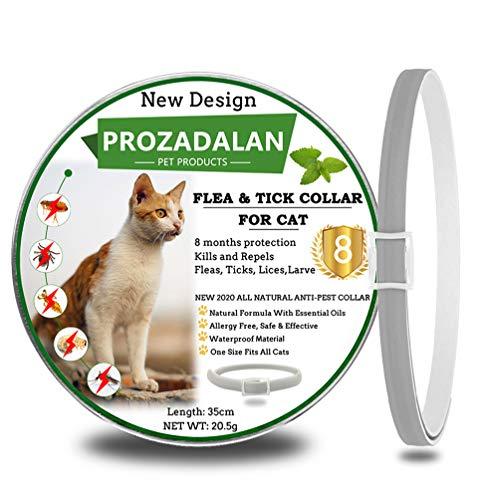 🥇 PROZADALAN Collar Antiparasitario para Gatos