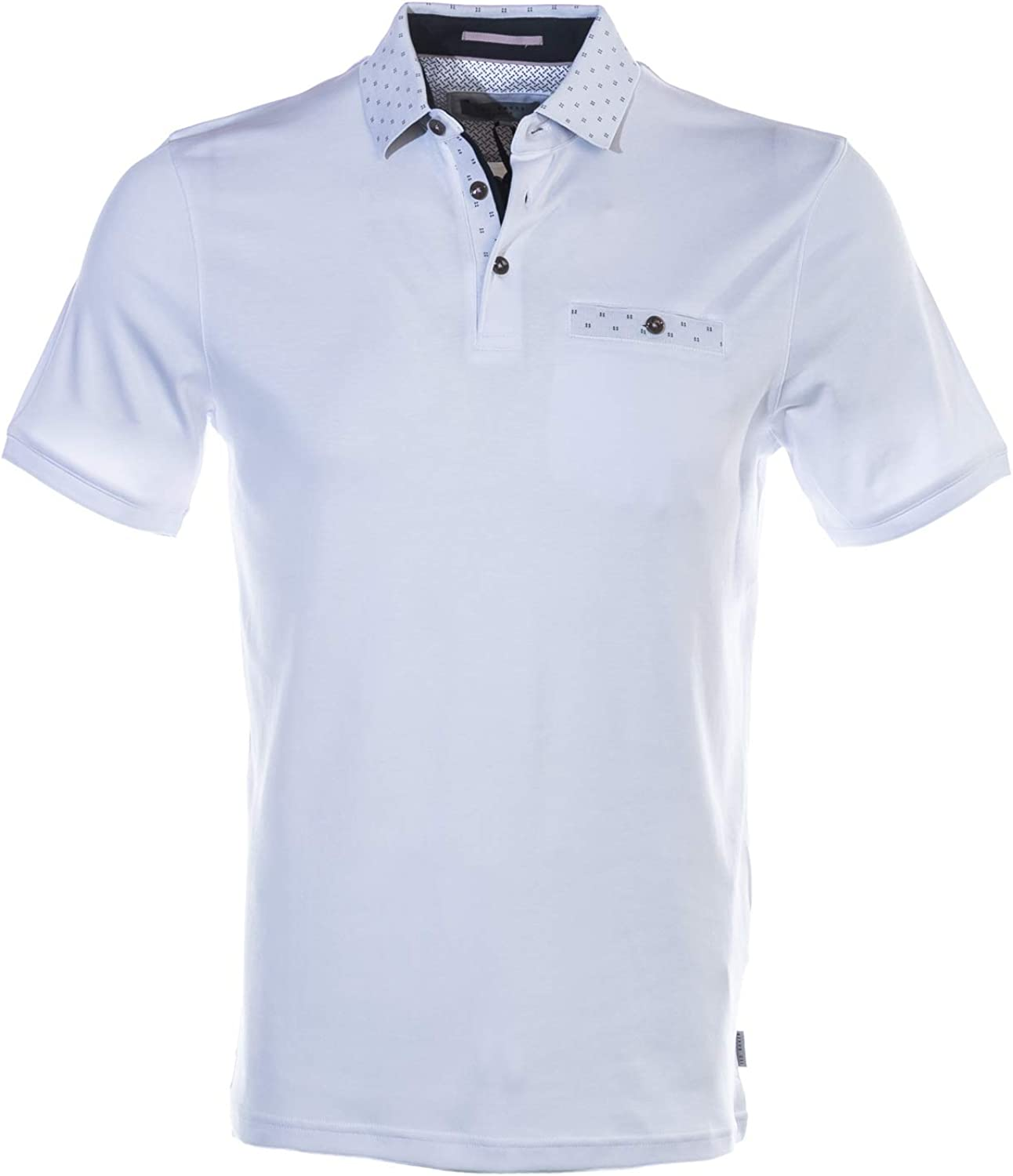 Ted Baker Critter Polo Shirt in White: Amazon.es: Ropa y accesorios
