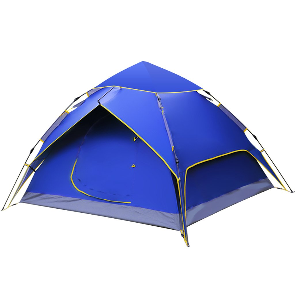LINGZHIGAN テント屋外マルチ人ダブルキャンプ防水キャンプ自動テント (色 : B)  B B07FKYN14R
