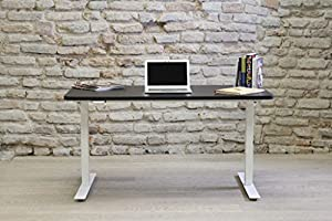 Electric height adjustable desk sit stand desk made in for Amazon sweden office