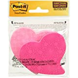 Post-it Notes, Super Sticky Pad, 2.9 x2.8 Inches, Assorted shapes and colors (7350-HBMX)