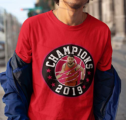 Fred-VanVleet No.23 Finals Champions 2019 Shirt Basketball Winner Portrait Jersey Toronto Customized Handmade T-Shirt Hoodie/Long Sleeve/Tank Top/Sweatshirt