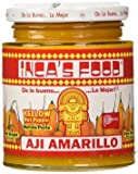 Inca's Food Aji Amarillo Paste - Hot Yellow Pepper Paste, 15.7 Oz Jar - Product of Peru