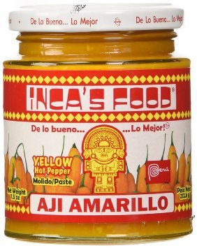 Inca's Food Aji Amarillo Paste - Hot Yellow Pepper Paste, 15.7 Oz Jar - Product of Peru - Buy Wholesale Food