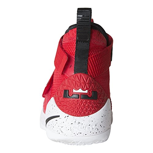 Nike Lebron Soldier Xi Mens Basketbalschoenen Rood / Zwart / Wit