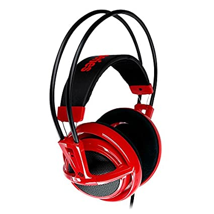fcf43167cc7 Amazon.com: SteelSeries Siberia V2 Full-Size Gaming Headset (Red):  Electronics