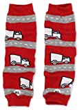 Babylegs Baby-Boys Infant Special Delivery Leg Warmer, Red/Gray, One Size
