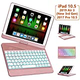 iPad Pro 10.5 Case with Keyboard 2017/ iPad Air 3rd Gen Case with Keyboard 10.5 2019