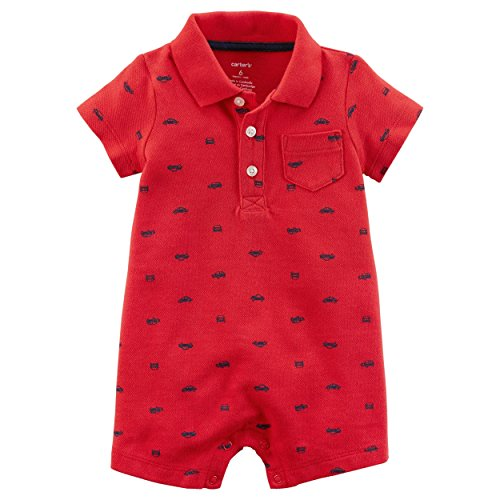 (Carter's Baby Boys' Car Romper 6 Months)