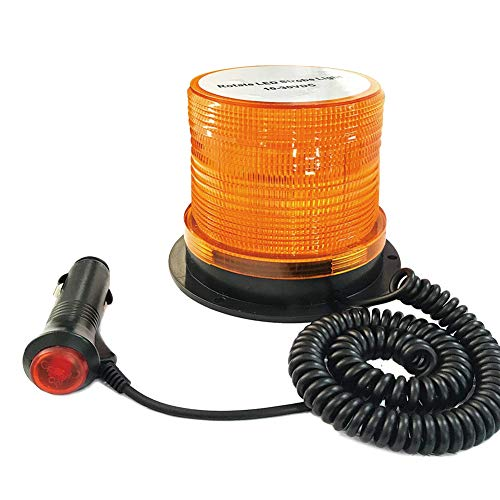 - LED Strobe Light, Big Ant Amber 48 LED Warning Lights Safety Flashing Strobe Lights with Magnetic for Most Vehicle Trucks Cars, Law Enforcement Emergency Hazard Beacon Caution Warning Snow Plow