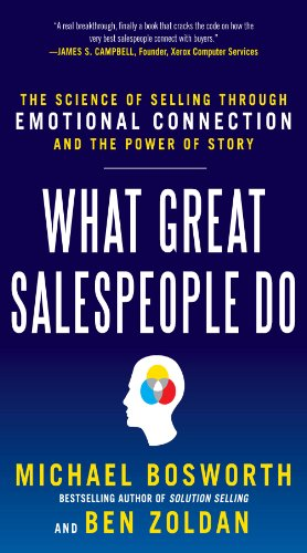 "Build better relationships and Sell More Effectively With a Powerful SALES STORY   ""Throughout our careers, we have been trained to ask diagnostic questions, deliver value props, and conduct ROI studies. It usually doesn't work; best case,..."