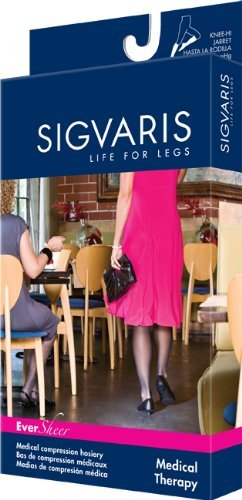 Sigvaris 780 Eversheer 20-30 Mmhg Women's Closed Toe Pantyhose – 782p – M2 – Navy