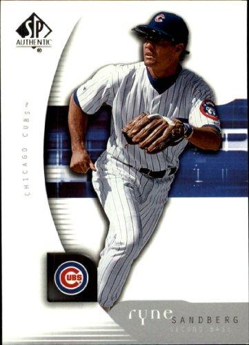 2005 Sp Authentic Baseball Card - 2005 SP Authentic Baseball Card #86 Ryne Sandberg