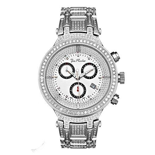 Joe Rodeo JJM21 Master Man Diamond Watch, White Dial