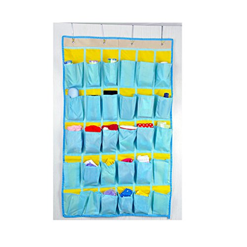 #RankBoosterReview Of Oxford 30 Pocket Hanging Bathroom Storage Organizer