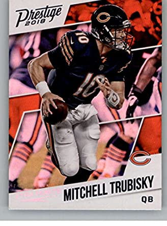 2018 Panini Prestige NFL XTRA Points Blue (Retail Exclusive)  172 Mitchell  Trubisky Chicago d677307d2