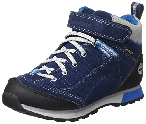 Timberland Unisex-Kinder Griffin Park Chukka Boots Blau (Black Iris)
