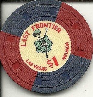 $1 last frontier hotel las vegas nevada casino chip obsolete (Old Obsolete Las Vegas Casino)