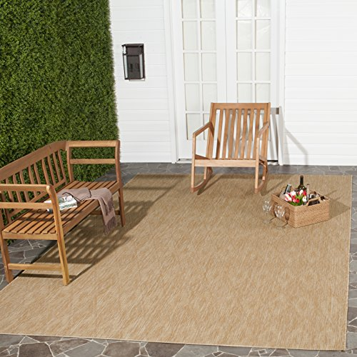 Safavieh Courtyard Collection CY8522-03011 Natural Indoor/ Outdoor Area Rug (5'3