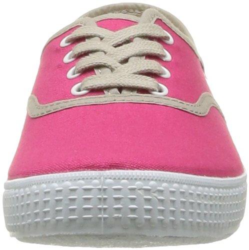 Victoria Inglesa Lona Detall Contrast, Unisex - Erwachsene Sneaker Rosa - Rose (Fresa)