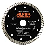 Alpha Eclipse II Wet/Dry Concrete and Stone Cutting Blades