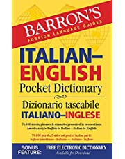 Italian-English Pocket Dictionary: 70,000 words, phrases & examples