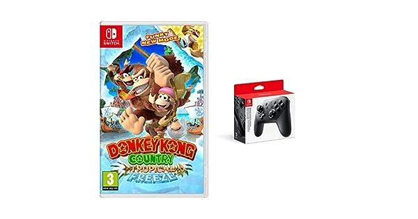 Donkey Kong Country: Tropical Freeze & Nintendo Switch - Mando Pro ...