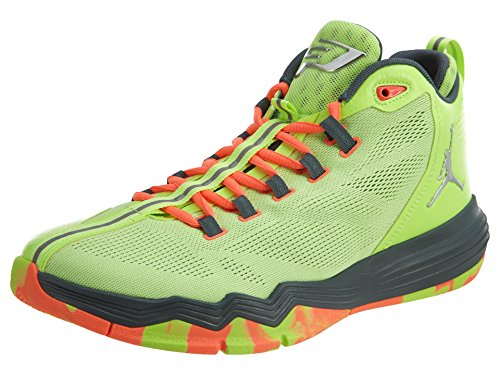 Nike Jordan Men's Jordan CP3.IX AE Ghst Grn/Mtllc Slvr/Hst/Brght Basketball Shoe 9.5 Men US by Jordan