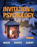 Invitation to Psychology Plus NEW MyPsychLab with Pearson EText -- Access Card Package, Wade, Carole and Tavris, Carol, 0133770095