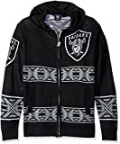 Klew NFL Men's Full Zip Hooded Sweater