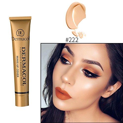 #222 Dermacol base primer corrector concealer cream makeup base tatoo consealer face foundation contour palette 30g 100% Original