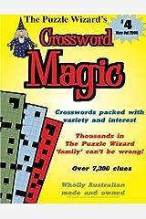 Crossword Magic No. 4 Paperback
