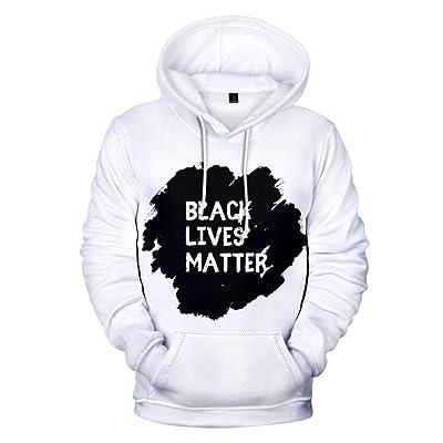 I CAN/'T BREATHE BLACK LIVES MATTER PROTEST Hoodie Sweatshirt Men Women Unisex