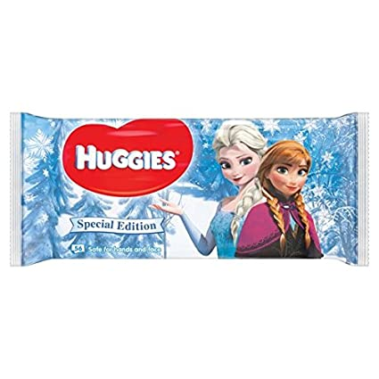 Huggies Natural Care Wipes bebé Disney de la edición limitada 56 por paquete