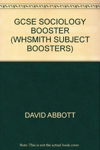 GCSE Sociology Booster (WHSmith subject boosters)