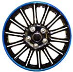 14 Inch Black with Blue Pinstripe Car...