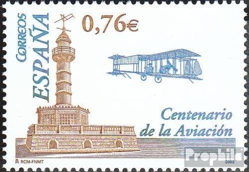 Prophila Collection España Michel.-No..: 3909 (Completa.edición.) 2003 vuelos con Motor el Brüel Wright (Sellos para los coleccionistas) Aviación: Amazon.es: Juguetes y juegos