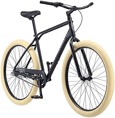 Schwinn Phantom Urban Cruiser Bike, Featuring 18-Inch/Medium or  19 5-Inch/Large Retro Double-Top Tube Aluminum Frame, Internal 3-Speed  Drivetrain,