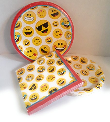 Homemade Crayons Costumes (EMOJI PARTY PAPPER PLATES INCLUDES 18 PLATES SAUCERS AND NAPKINS)
