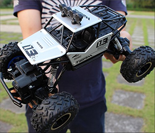 RC Off-Road Vehicle 1:16 RC Car Big boy Toys Remote Control car Boys to Charge high-Speed Large feet Large Alloy Off-Road Four - For Control Big Car Remote Adults