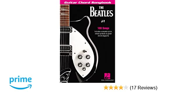 Amazon The Beatles Guitar Chord Songbook J Y Guitar Chord