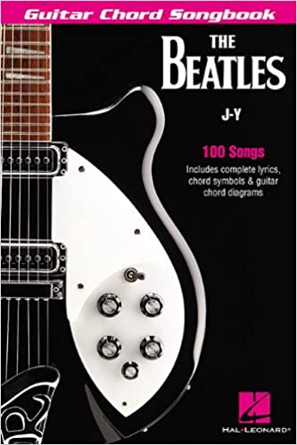 Amazon com: The Beatles Guitar Chord Songbook: J-Y (Guitar Chord