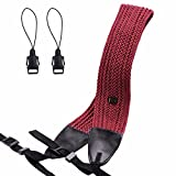 Best Neck Straps For Cameras - Eggsnow Camera Shoulder Neck Strap Knit Broaden Universal Review
